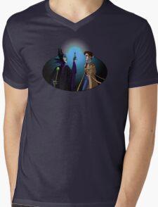 Maleficent's Surprise Mens V-Neck T-Shirt