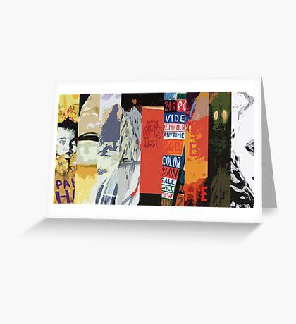 Radiohead All Album Covers Greeting Card