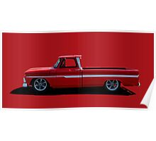 1960's Chevy Pickup Poster