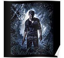 Uncharted 4 // Nathan Drake  Poster