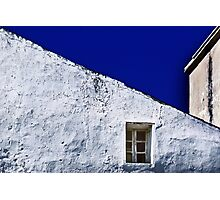 White Wall with Window Photographic Print