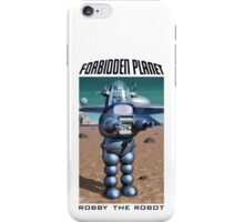 Forbidden Planet Robby the Robot iPhone Case/Skin