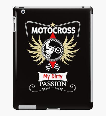 Bikers Motocross Racing Themed Design iPad Case/Skin