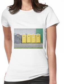 Odd Man Outhouse Womens Fitted T-Shirt