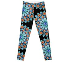Summer Days Mandala Leggings