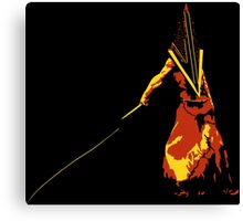 Pyramid Head Canvas Print