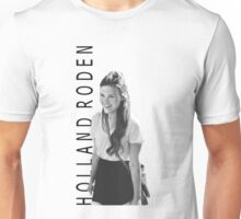 Holland Roden - Black and White Unisex T-Shirt