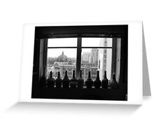 Flinders St Inside & Out Greeting Card
