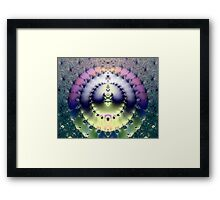 FRACTAL # 5 ~ ABSTRACT ~ COLORFUL Framed Print