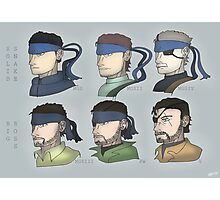 MGS Snakes Photographic Print