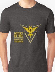 Pokemon Go - Instinct On Fire! Unisex T-Shirt