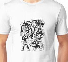 Crazy Monkeys Unisex T-Shirt