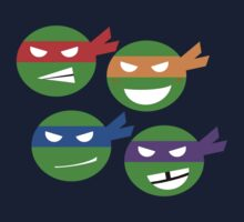 TMNT Minimalist by lollipopstevens