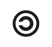 Copyleft Symbol - Support the Free Web! Photographic Print