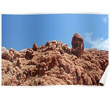 Rock Formations Arches National Park Poster