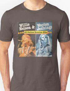Willie Nelson And Waylon Jennings Unisex T-Shirt