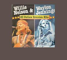 Willie Nelson And Waylon Jennings Classic T-Shirt
