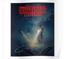 The Stranger Things Merch Poster