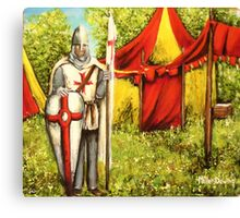 A Knights' Rest Canvas Print