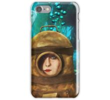 Sea of Green and Blue iPhone Case/Skin