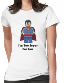 Super ! Womens Fitted T-Shirt