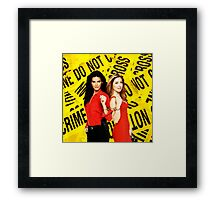 Rizzles (Rizzoli & Isles) Framed Print
