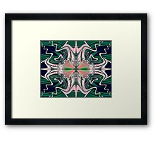FRACTAL # 6 ~ ABSTRACT ~ COLORFUL Framed Print
