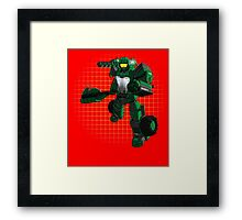The Last Spartron Framed Print
