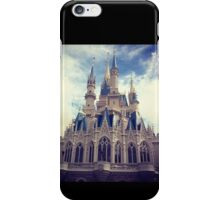 Cinderellas castle iPhone Case/Skin