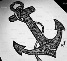 Anchor Doodle - $20 by Trisha Vaz