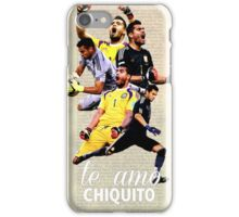 """Te Amo"" Sergio Romero iPhone Case/Skin"