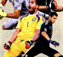 """""""Te Amo"""" Sergio Romero Sticker"""