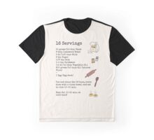 Recipe For Disaster Graphic T-Shirt