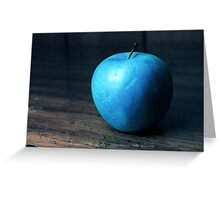 Delicious Blue Greeting Card