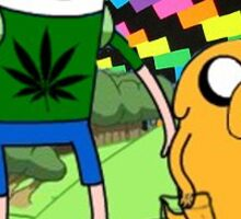 If Jake is Baked, and Finn is Fried... Sticker