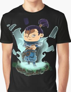 League of Legends - Yasuo Chibi v.2 Graphic T-Shirt