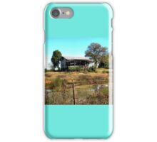 """""""Redneck Version of a Beachfront Condo""""... prints and products iPhone Case/Skin"""