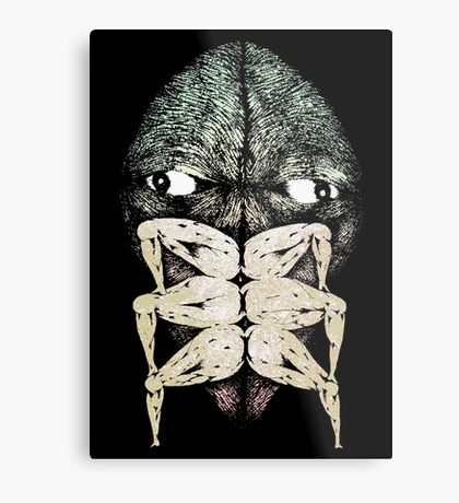 forget i ever told you i was kafka in a past life Metal Print