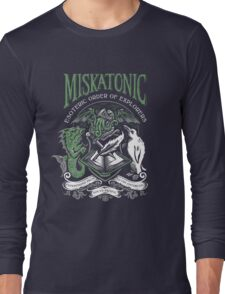 Miskatonic Esoteric Order of Explorers Long Sleeve T-Shirt