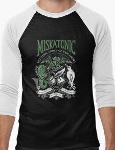 Miskatonic Esoteric Order of Explorers Men's Baseball ¾ T-Shirt