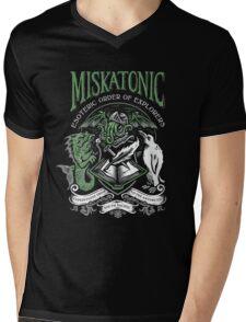 Miskatonic Esoteric Order of Explorers Mens V-Neck T-Shirt
