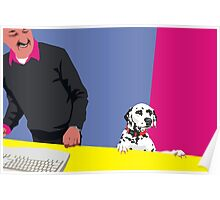 How may I help you? Poster