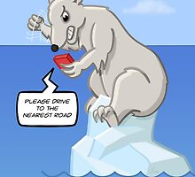 Polar Bearings Meltdown by Thingsesque