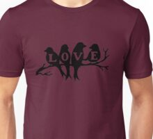 Lovebirds Unisex T-Shirt