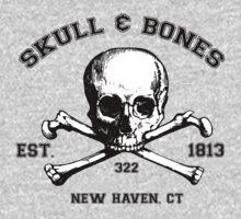 Skull and Bones T-Shirt by bbaileykmg
