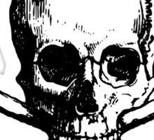 Skull and Bones T-Shirt Sticker