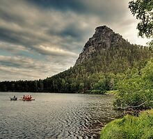 Paddle Boating in Kazakhstan by Kadwell