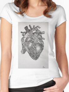Heart as it is  Women's Fitted Scoop T-Shirt