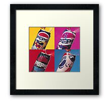 Pepsi Pop Art Framed Print