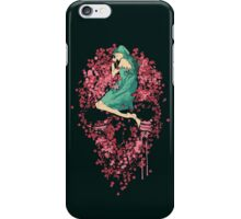 Sleeping on Bed of Roses iPhone Case/Skin